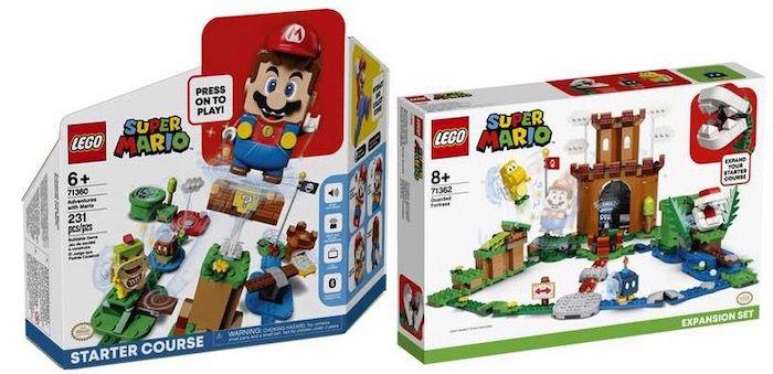 Lego Super Mario Bundle   Abenteuer mit Mario + Bewachte Festung für 67,99€ (statt 86)