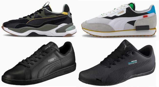 Puma Cyber Monday Sale bis  50% + bis zu weitere 40%   z.B. Smash Leder Sneaker für 25,89€ (statt 38€)