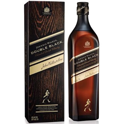 Johnnie Walker Double Black Label Blended Scotch Whisky 1x 0,7 Liter ab 22,49€ (statt 31€)