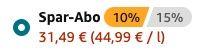 Don Julio Añejo Tequila (1x 0,7 Liter) für nur 31,49€ (statt 43€)