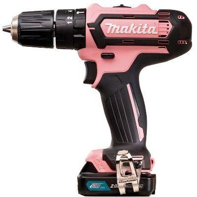 Makita Akku Schlagbohrschrauber 12V HP331DSAP1 Pink Edition für 94,95€ (statt 113€)