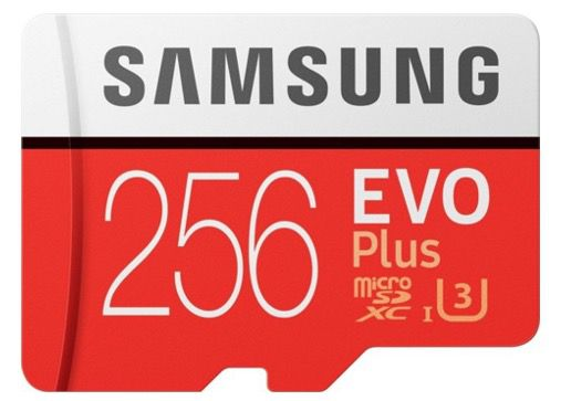 Samsung MicroSDXC EVO Plus   256GB Speicherkarte für 27€ (statt 34€)