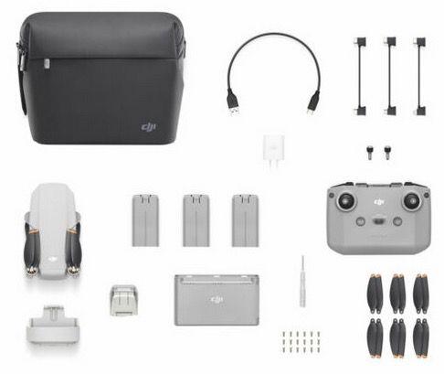 DJI Mini 2 Fly More Combo 4K Drohne mit mega Reichweite für 453,34€ (statt 560€)