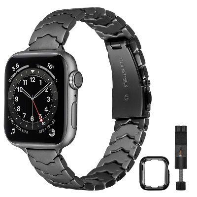 AOYU Edelstahl Armband für z.B. die Apple Watch für 8,40€ (statt 21€)