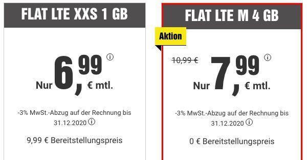 BILDplus + o2 Allnet Flat mit 4GB LTE für 7,99€ mtl.   auch ohne Laufzeit