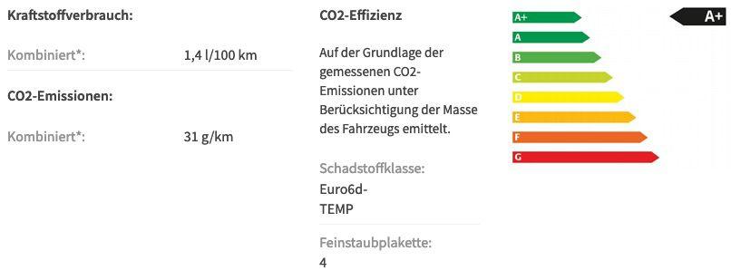 Gewerbe: Skoda Octavia Combi First Edition 1,4 TSI iV Plug in Hybrid für 130€ brutto mtl.   LF 0,40
