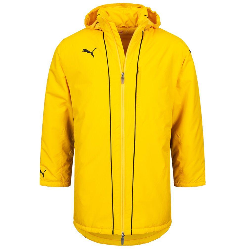 Puma V1.08 Herren Coach Jacke in Gelb für 23,94€ (statt 30€)