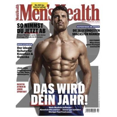 Jahresabo Men's Health für 58€ + 50€ BestChoice Gutschein