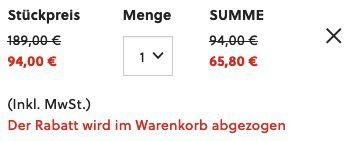 Fossil Latitude Chronograph in schwarzem Edelstahl für 65,80€ (statt 99€)