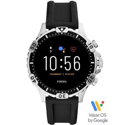 Fossil Smartwatch Garrett HR 5. Gen. mit Silikon-Armband für 139,30€ (statt 190€)