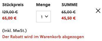 Fossil Garrett Herren Chronograph mit Silikon Armband für 45,50€(statt 79€)