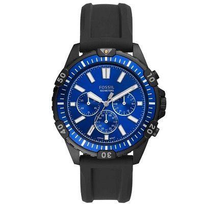 Fossil Garrett Herren Chronograph mit Silikon-Armband für 45,50€(statt 79€)