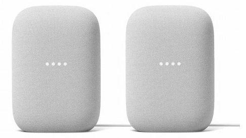 Doppelpack Google Nest Audio für 159€ (statt 194€) + 6 Monate Spotify Premium