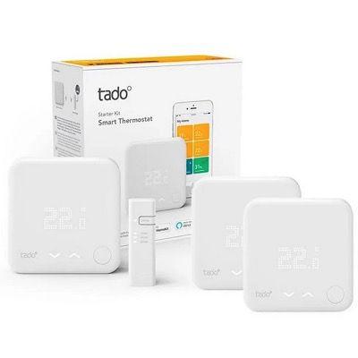 tado Smart Starter Kit V3+ mit 3 Raumthermostaten & Bridge für 289€ (statt 345€)