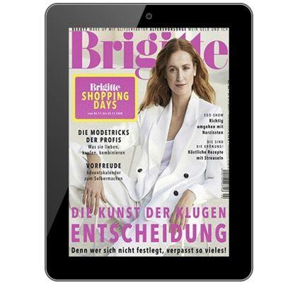 Jahresabo Brigitte Digital E-Paper für 1€ (statt 55€)