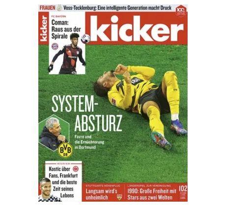 13 Ausgaben vom Kicker für 71,50€ + 75€ Amazon Gutschein