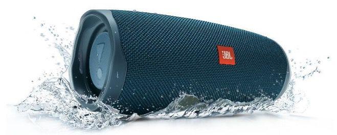 JBL Charge 4 BT Boombox in Blau für 98,98€ (statt 119€)