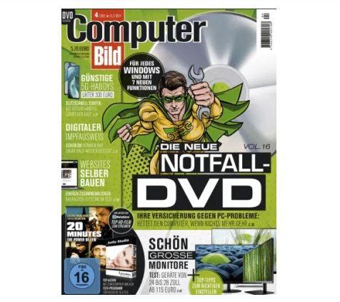 13 Ausgaben Computer Bild mit DVD für 79,95€ + 80€ Amazon Gutschein
