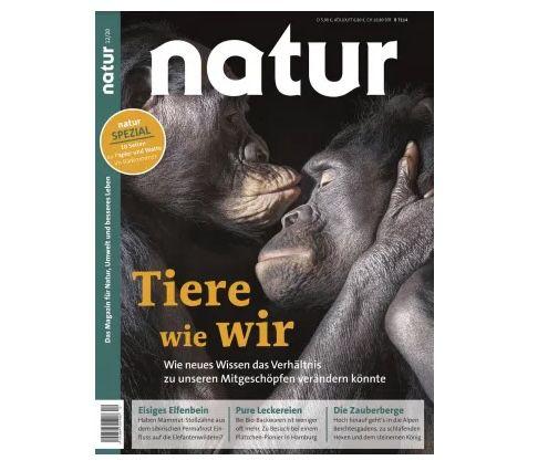 14 Ausgaben der Natur nur 96,74€ + Prämie: 75€ Verrechnungs-Scheck