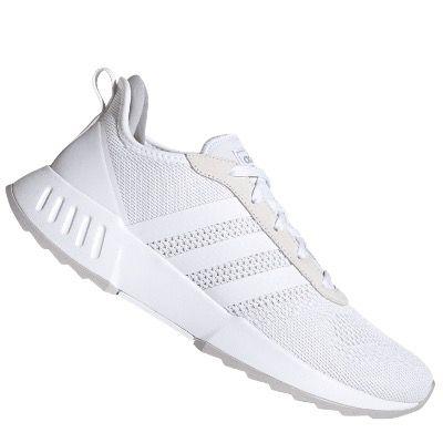 adidas Phosphere Laufschuh in mit Knit Obermaterial in Weiß oder Grau für 32,95€ (statt 40€)