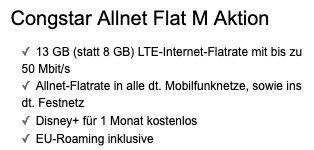 OnePlus 8T mit 128GB für 179€ + Telekom Flat von Congstar mit 8GB LTE für 22€ mtl. + InEars gratis dazu