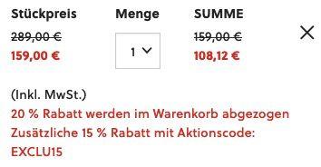 Fossil Lux Luther Damen + Herren Uhren Set Edelstahl Bicolor für 108,12€ (statt 140€)