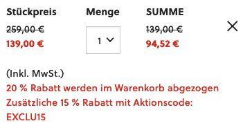 Fossil BQ2469 Uhren Set (44mm + 34mm) mit Edelstahl Armband für 94,52€(statt 135€)