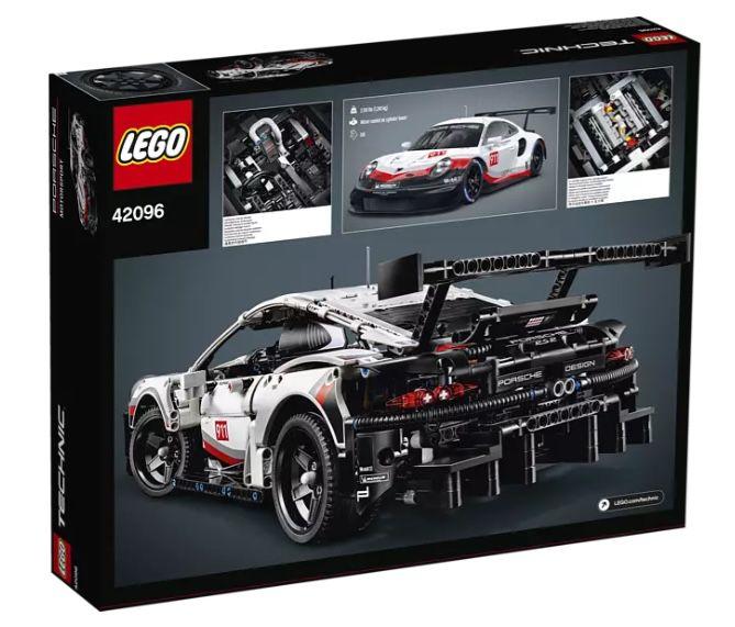 LEGO Technic   Porsche 911 RSR (42096) für 99,99€ (statt 111€)