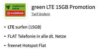 Apple iPhone 11 für 29€ + Vodafone Flat mit 15GB LTE für 29,99€ mtl.
