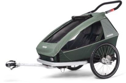 Croozer Kid Vaaya 2 Fahrradanhänger in Jungle Green für 683€ (statt 759€)