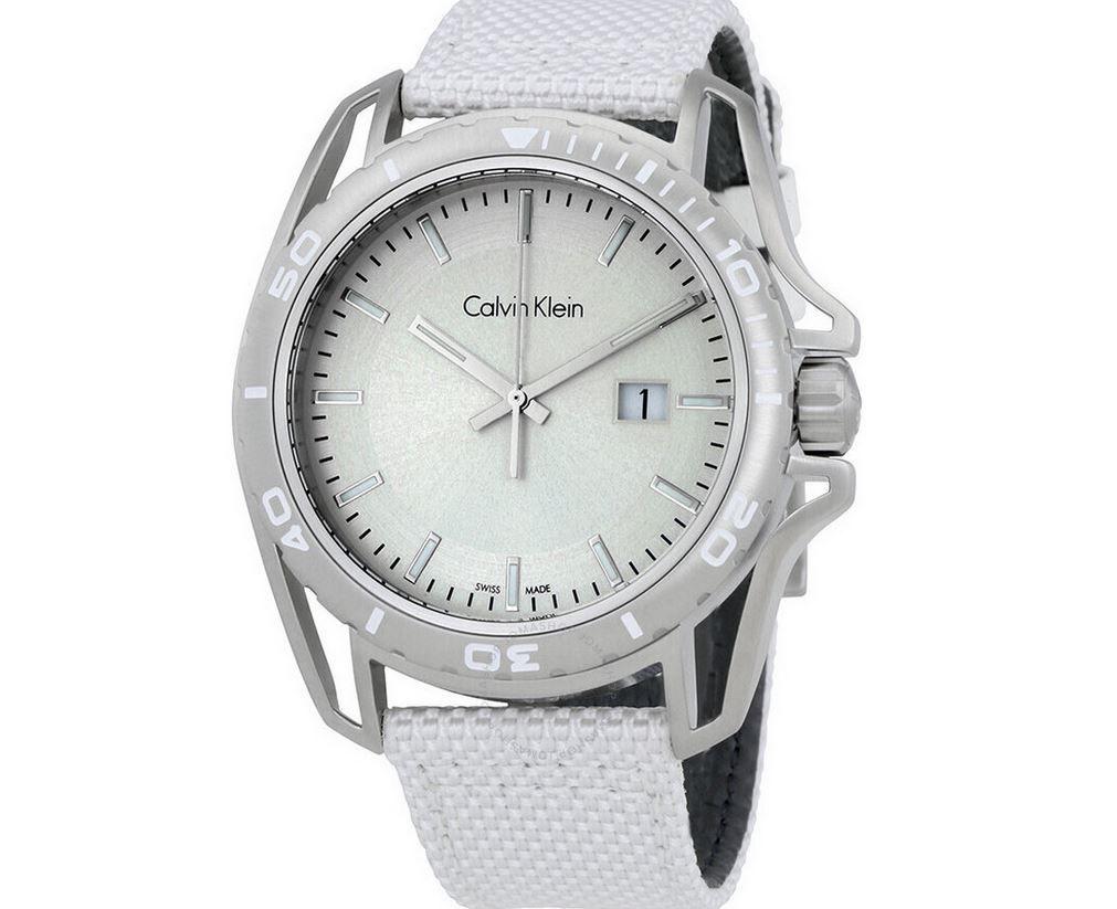 Calvin Klein Earth Herren Edelstahl Quarz Uhr für 65,90€ (statt 259€)