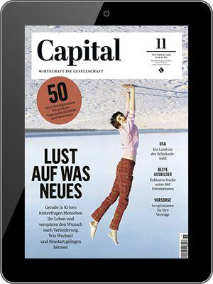 Ein Jahr Capital Abo als e Paper direkt nur 2,49€ (statt 80€)