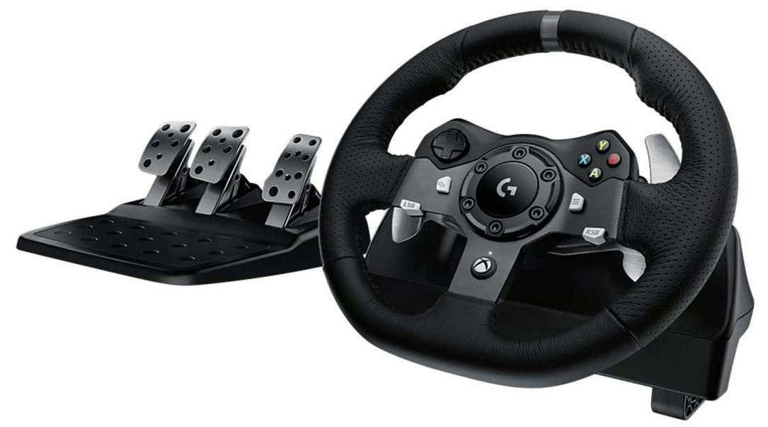 Logitech G920 Driving Force Gaming Rennlenkrad mit Pedalen (Xbox Series X|S und Xbox One/PC/Mac für 189,59€ (statt 250€)