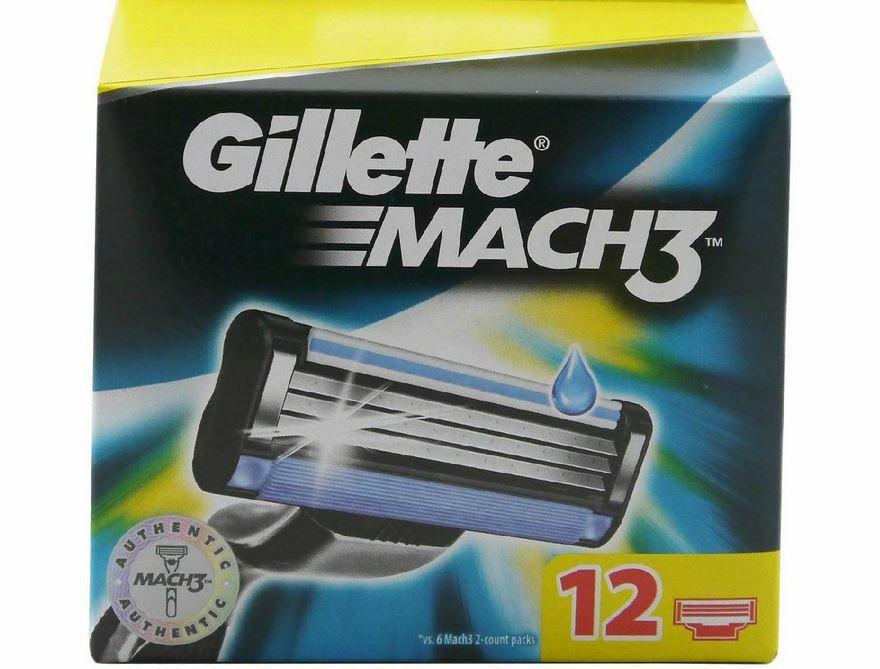 Gillette MACH3 Rasierklingen 12er Pack für 19,99€ (statt 23€)