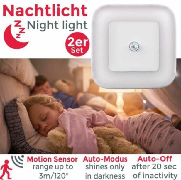 2er Pack BKL1133 Nachtlicht mit Bewegungsmelder für 10,99€ (statt 15€)