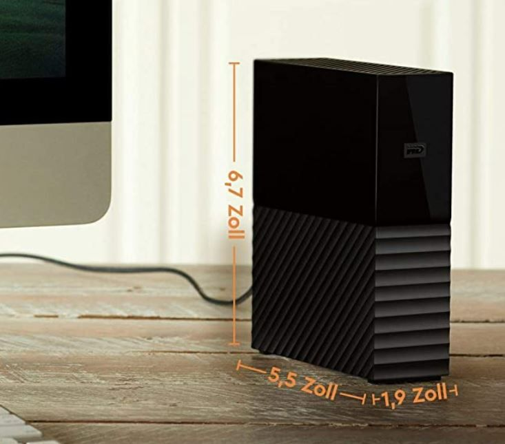 Western Digital My Book 8 TB ext. Festplatte ab 148,95€ (statt 170€)
