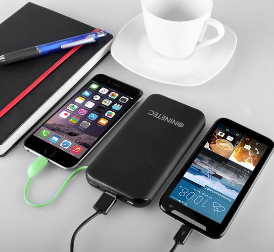 NINETEC NT 610 PowerBank   10.000mAh mit Lightning und Micro USB für 9,99€ (statt 25€)