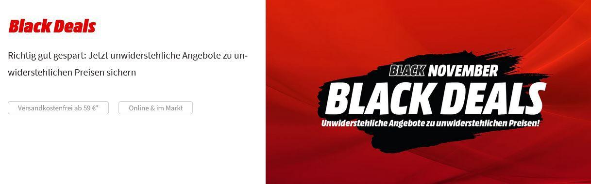 Media Markt Black Deals: z.B. BRAUN SERIES 7 Rasierer (Cassette) für 144,99€ (statt 190€)