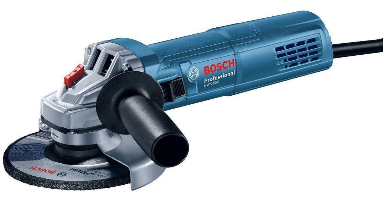 Bosch GWS 880 Professional Winkelschleifer 125mm für 39,59€ (statt 53€)