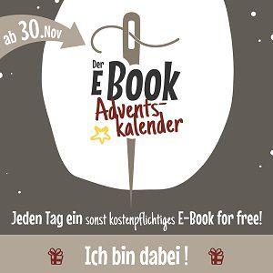 Kostenlose Schnittmuster im Adventskalender von Ebookmacher
