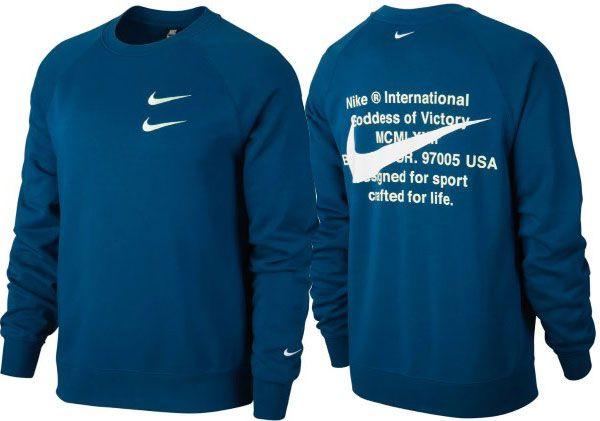 Nike Sportswear Swoosh Rundhalspullover aus French Terry für 36,35€ (statt 60€)