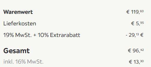 4er Set Retro Stuhl Judy im skandinavischem Stil für 96,42€ (statt 125€)