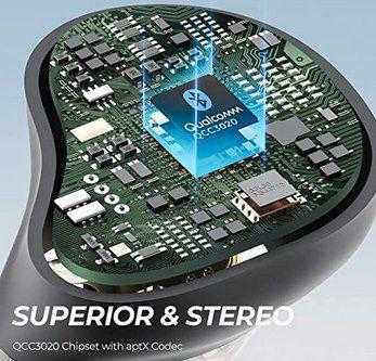 SoundPEATS Bluetooth True Wireles Earbuds für 19,67€ (statt 42€)