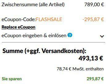 Lenovo Legion Y44w 10 110,2 cm (43,4) Curved HDR Gaming Monitor für 493,13€ (statt 948€)
