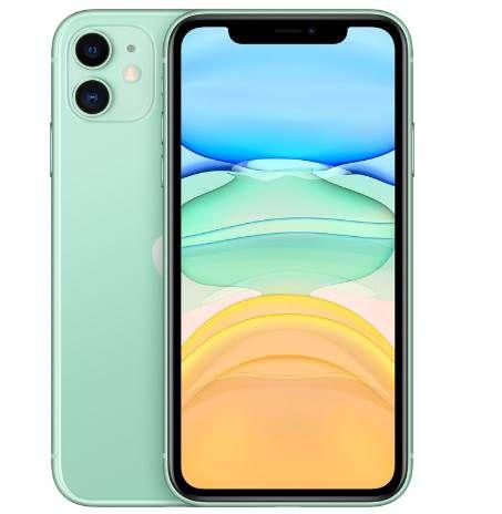 Apple iPhone 11   64GB in Grün für 579€ (statt 639€)