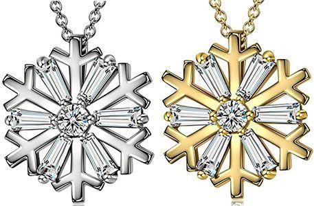 AVATAR Halskette Schneeflocke in 2 Designs für je 10,99€ (statt 25€)   Prime