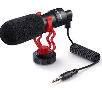 RaLeno V30 universelles Mikrofon inkl. Adapter & Zubehör für 19,99€ (statt 30€)