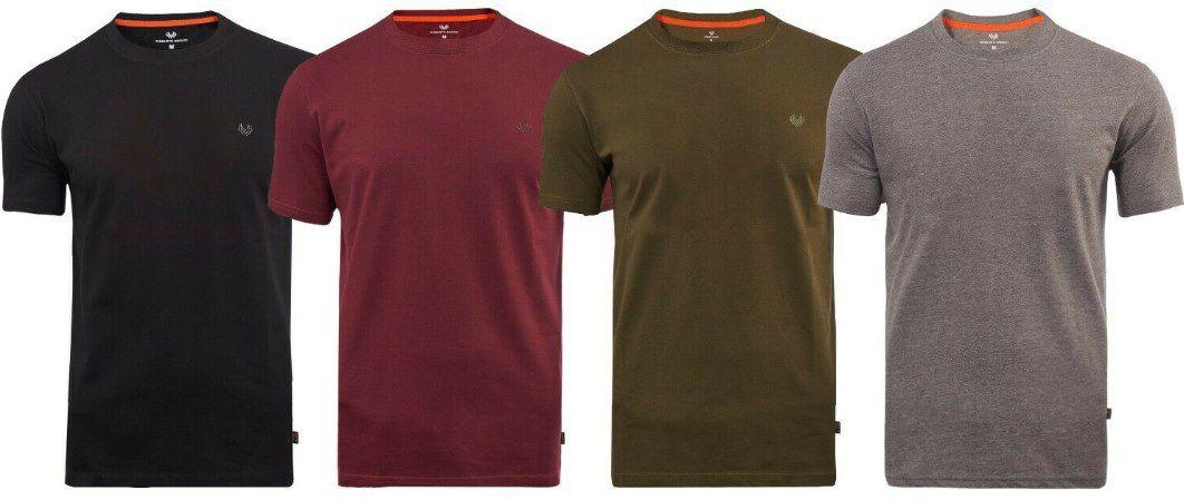 Roberto Barini Herren Kurzarm T Shirt Rundhals für 10,99€   bis 3XL