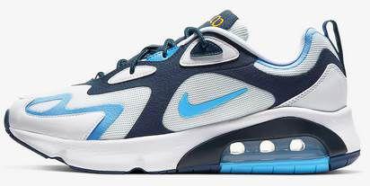 Nike Air Max 200 in Blau Weiss für 60,38€ (statt 92€)