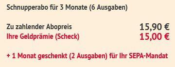 8 Ausgaben tv DIGITAL XXL für 15,90€ + 15€ Scheckprämie